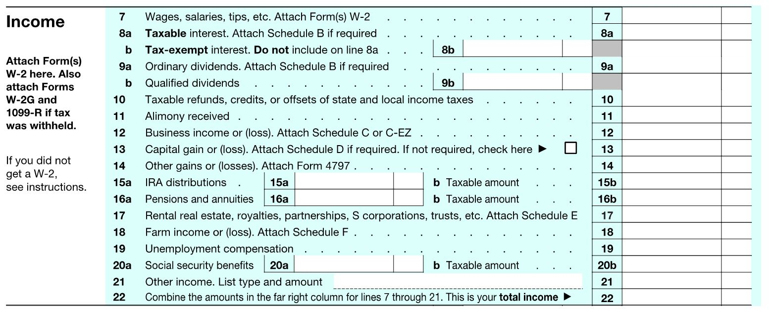 The abcs of the 1040 individual income tax planning part 1 1040 income falaconquin